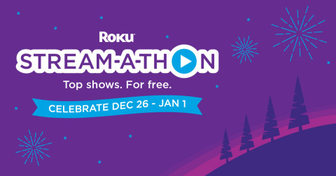 2019 Roku Stream-a-thon on The Roku Channel (Graphic: Business Wire)