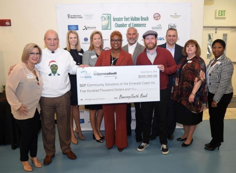 BancorpSouth Bank and FHLB Dallas recently awarded a $500,000 Affordable Housing Program grant to support temporary housing for the homeless in Okaloosa County, Florida. (Photo: Business Wire)