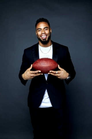Former NFL NY Giants running back, New York Times bestselling author and youth advocate Rashad Jennings has joined his next winning team: the Rex Gryphon Restaurant Group. (Photo: Business Wire)