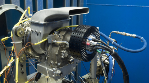UAV Turbines announced today that it successfully demonstrated its Monarch Hybrid Range Extender (HREX). (Photo: Business Wire)