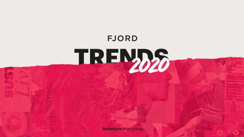 Read Fjord Trends 2020 (Graphic: Business Wire)