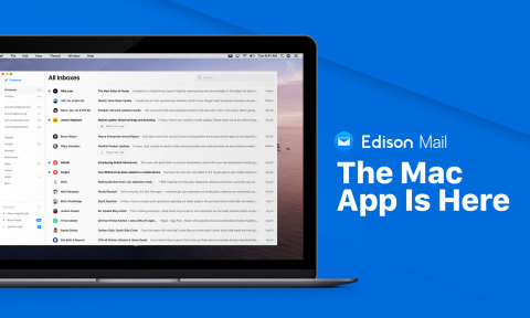 New Edison Mail for Mac app offers faster, simpler, and smarter mailbox management for unlimited accounts. (Graphic: Business Wire)