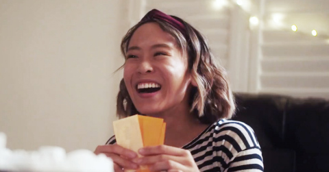 "Cal State Long Beach film student Cathy Bui appears in a video she wrote, edited and directed. Her video won the Lamps Plus user generated video contest featuring the theme, ""Light What You Love."" (Photo: Business Wire)"