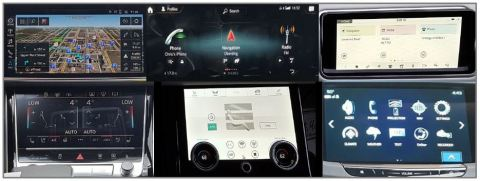 Automotive IVX Touchscreens (Photo: Business Wire)
