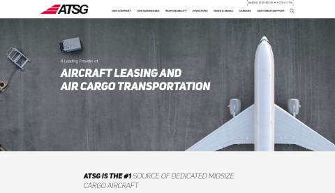 ATSG Launches New Website (Photo: Business Wire)