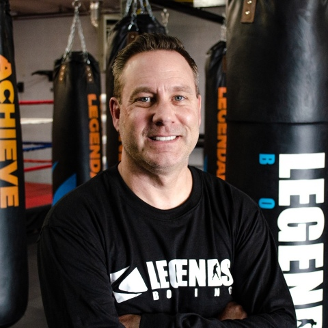 Scott Hatter President and COO Legends Boxing (Photo: Business Wire)