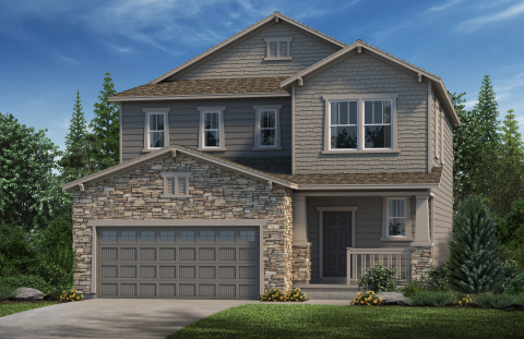 New KB homes now available in Colorado. (Photo: Business Wire)