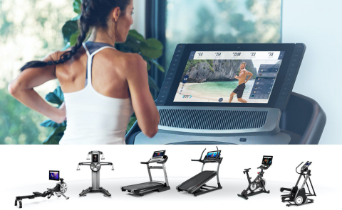 iFit, the interactive fitness streaming platform, raises $200 million to accelerate its explosive growth in the connected fitness category. iFit is available today on NordicTrack treadmills, incline trainers, rowers, cycles, and strength products. (Photo: Business Wire)