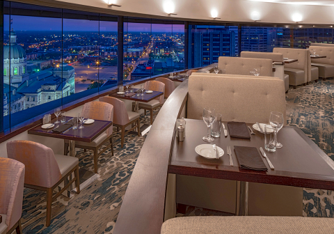 The Eagle's Nest at Hyatt Regency Indianapolis (Photo: Business Wire)