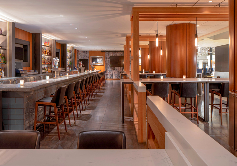 Level One restaurant at Hyatt Regency Indianapolis (Photo: Business Wire)
