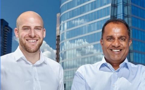 Vistara Capital: Randy Garg, Founder & Managing Partner and Noah Shipman, Partner (Photo: Business Wire)