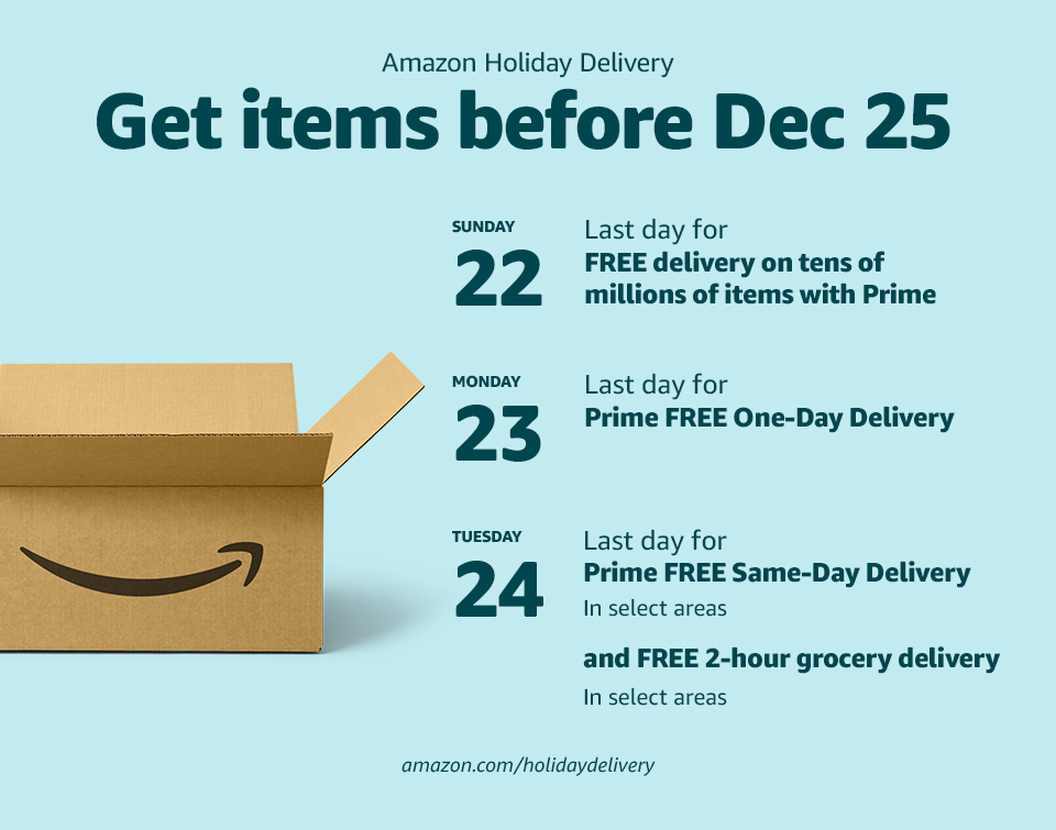 do i get free delivery with amazon prime