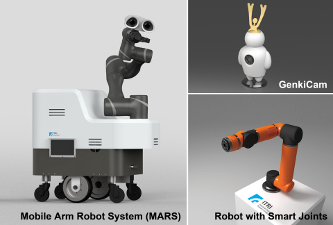 ITRI showcases AI & robotics technologies at CES 2020. (Graphic: Business Wire)