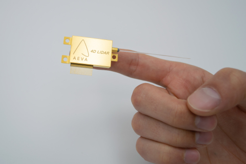 Aeva's 4D LiDAR on a chip (Photo: Business Wire)