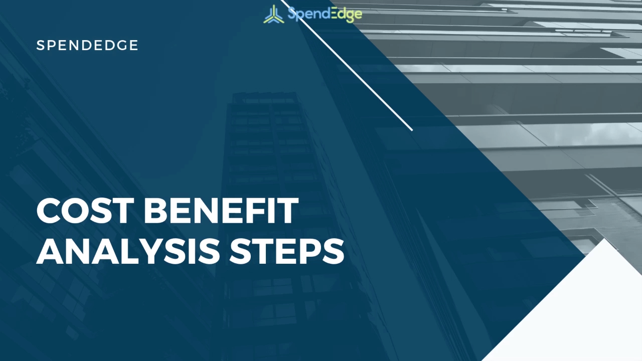 Cost Benefit Analysis Steps.