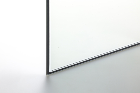 Vacuum Insulated Glass with Transparent Pillars (Enlarged) (Photo: Business Wire)