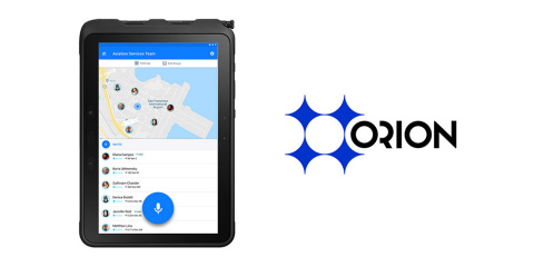 Orion voice services increase enterprise efficiency and enhance compliance with real-time communication, contextual data, and business automation. (Photo: Business Wire)