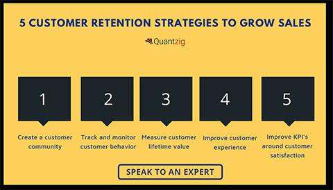 5 Customer Retention Strategies to Grow Sales