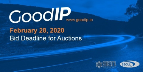 Seoul Semiconductor's patent auctions with GoodIP, a digital licensing platform (Graphic: Business Wire)