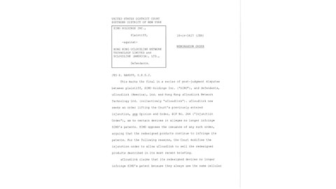 Final Court Documents