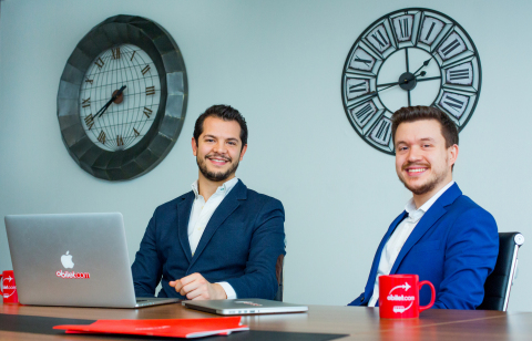 EBRD added obilet.com, Turkey's fastest-growing online ticket sales platform, to its investment portfolio. Yigit Gurocak, (obilet.com CEO and Co-founder) and Ali Yılmaz,  (obilet.com  Co-founder)  (Photo: Business Wire)