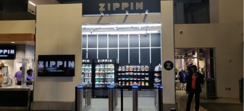 Zippin cashierless checkout. (Photo: Business Wire)