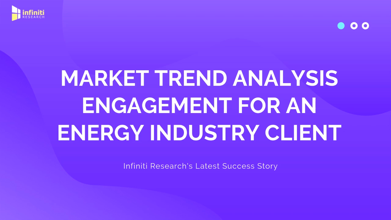Infiniti's Trend Analysis Solution Reduced Production Costs by 27% for an Energy Industry Client