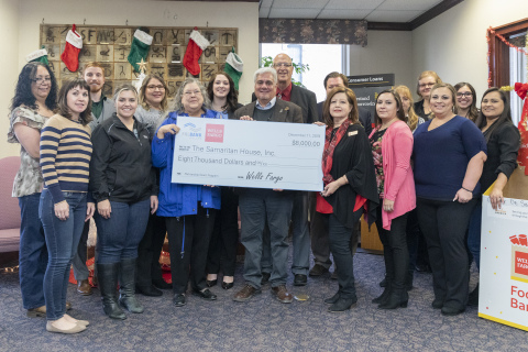 Wells Fargo and FHLB Dallas awarded $8K in Partnership Grant Program funds to Samaritan House, Inc., which will be used to equip the New Mexico organization's classrooms and fund program development. (Photo: Business Wire)