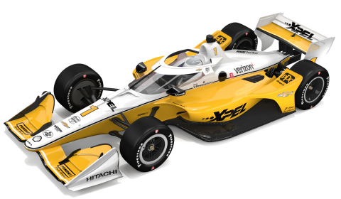 For two races in 2020, XPEL, Inc. will be the primary sponsor of the No. 1 Dallara/Chevrolet pictured here. (Photo: Business Wire)