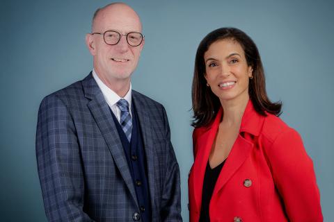 Graham Carr est recteur et vice-chancelier de l'Université Concordia et Helen Antoniou devient présidente du conseil d'administration. © Université Concordia