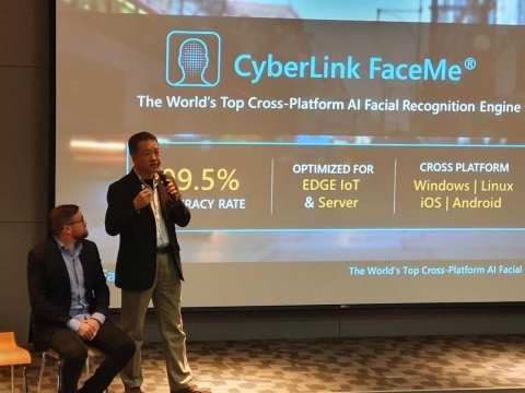 CyberLink's FaceMe® Cooperates with Advantech on AIoT Breakthrough, Showcasing New and Unmatched Level of Performance for its AI-based Facial Recognition Engine. (Photo: Business Wire)