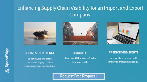 Enhancing Supply Chain Visibility for an Import and Export Company.