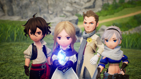 A trailer revealed that a new entry in SQUARE ENIX's Bravely series, Bravely Default II, is coming to Nintendo Switch in 2020. (Graphic: Business Wire)