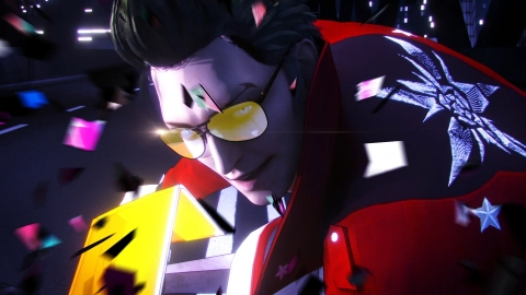 A new trailer for No More Heroes 3, the latest entry in the No More Heroes series from developer Grasshopper Manufacture, unveiled that the game is launching for Nintendo Switch in 2020. (Graphic: Business Wire)