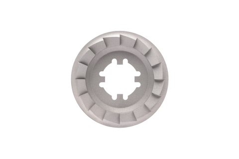 Printed on the Shop System, this clutch plate connects the electric starter engine to the crankshaft in a combustion engine and has customized geometry to optimize power transfer. (Photo: Business Wire)