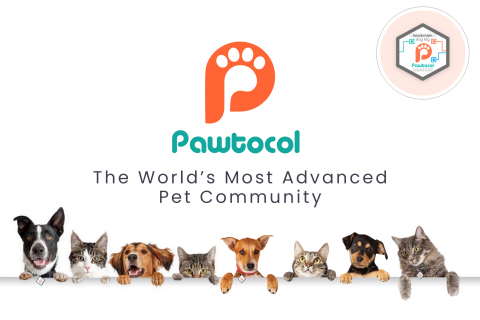Pawtocol is a global online community of pet lovers who are disrupting the pet industry by leveraging blockchain technology while monetizing data about their pets. (Photo: Business Wire)