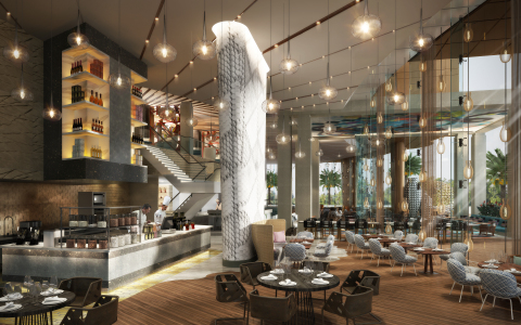 The Locale restaurant at Andaz Dubai The Palm (Photo: Business Wire)