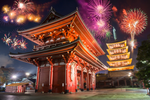 Agoda reveals Tokyo, Paris and Las Vegas are the destinations-of-choice in Asia Pacific, Europe and North America for travelers celebrating New Year's Eve. (Photo: Business Wire)