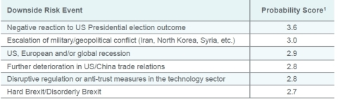 Downside risk - Natixis Strategist 2020 Outlook (Graphic: Business Wire)