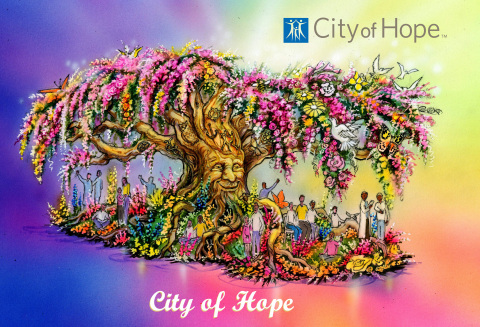 """City of Hope patients demonstrate how """"The Power of Hope"""" and leading-edge treatment at a biomedical research institution gave them the gift of time. (Graphic: Business Wire)"""