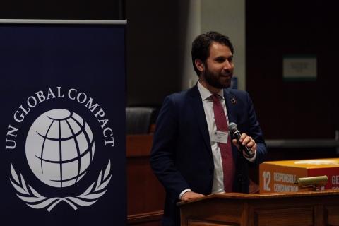 Adam Gordon, Engagement Director, UN Global Compact Network USA (Photo: Mary Kay Inc.)