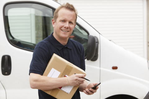 AxleHire Attended provides adult signature and identification scanning to ensure package delivery. It puts customers in control of exactly who is receiving their packages. (Photo: Business Wire)