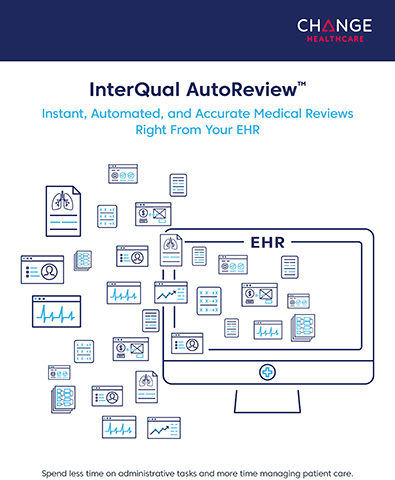 Change Healthcare InterQual AutoReview Brochure