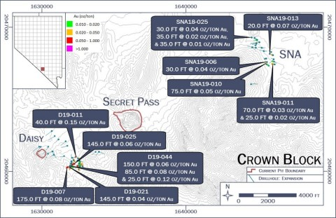 Crown Block: Plan Map (Photo: Business Wire)