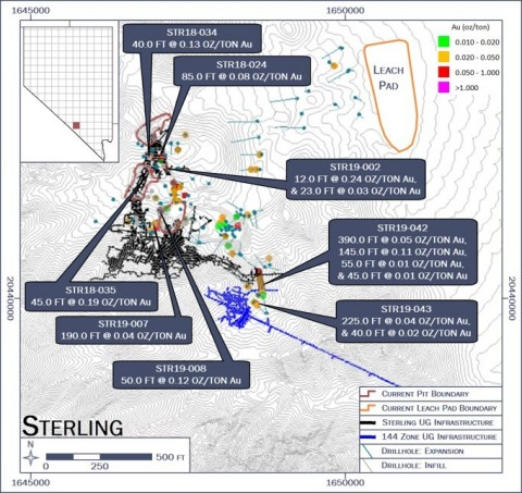 Sterling: Plan Map (Photo: Business Wire)