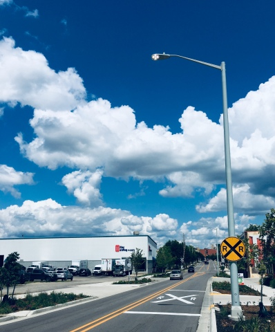 Grand Rapids is reviewing an upgrade of its 18,000 streetlights with LED lighting and using the Sensus VantagePoint Lighting Control. (Photo: Business Wire)