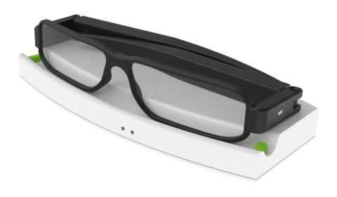 Energous WattUp Smart Glasses Developer Kit (Photo: Business Wire)