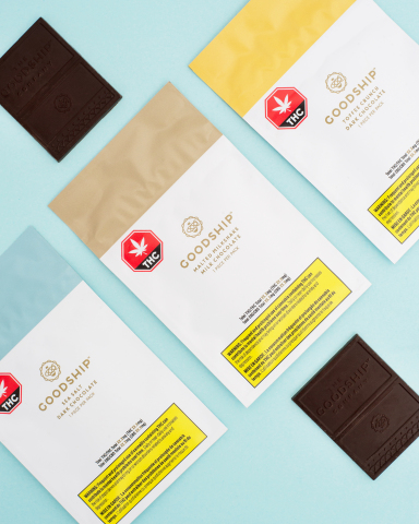 Goodship will launch its first cannabis collection in Canada with cannabis-infused gourmet chocolates. (Photo: Business Wire)
