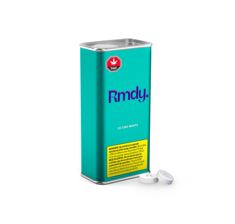 Rmdy. will launch with non-combustible cannabis products, including mints, melts and all-in-one vapes. (Photo: Business Wire)