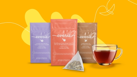 Fluent, High Park's joint venture with Labatt Breweries of Canada, introduces Everie, their debut brand of non-alcoholic CBD-infused beverages. (Photo: Business Wire)
